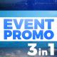 Event Promo Glitch Rewind 3 in 1 - VideoHive Item for Sale