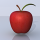 Apple 3D Model - 3DOcean Item for Sale