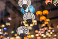 Colourful turkish mosaic lamps oriental traditional light - PhotoDune Item for Sale