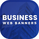 Business Web Banner Set - GraphicRiver Item for Sale