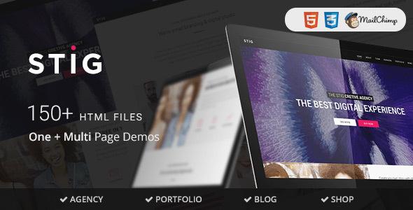 Stig - Multipurpose One/Multi Page Template