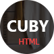 Cuby - Portfolio Showcase HTML Template - ThemeForest Item for Sale
