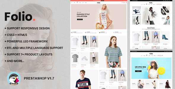 At Folio - Responsive Prestashop 1.7.6.x Theme for Clothing & Accessories