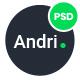 Andri - Multi-Purpose Business PSD Template - ThemeForest Item for Sale