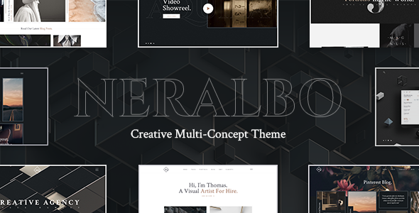 Neralbo - Creative Agency Theme
