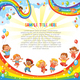 Children on a Rainbow - GraphicRiver Item for Sale