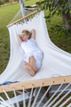 young woman resting on hammock - PhotoDune Item for Sale