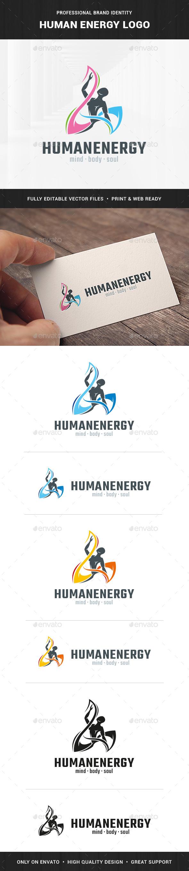 Human Energy Logo Template
