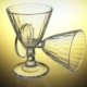 Crystal Multifacet Wine Glass - 3DOcean Item for Sale