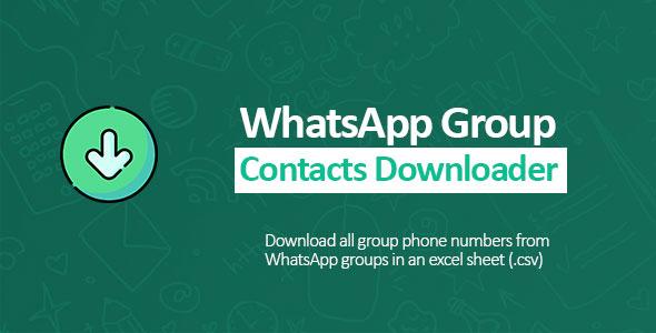 Whatsapp Contact Extractor PRO