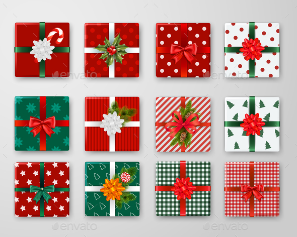 Christmas Boxes Design Set
