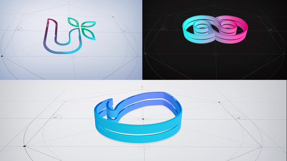 3D Glossy Architecture Logo