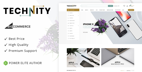 Technity - Multipurpose Stencil BigCommerce Theme
