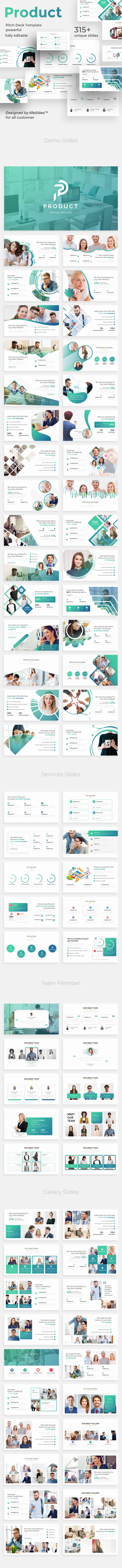 Product Strategy Pitch Deck Powerpoint Template
