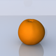 Orange 3D Model - 3DOcean Item for Sale
