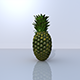 Pineapple 3D Model - 3DOcean Item for Sale