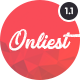 Onliest - Creative Portfolio One Page WP Theme - ThemeForest Item for Sale