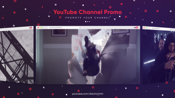 Youtube Channel Promo