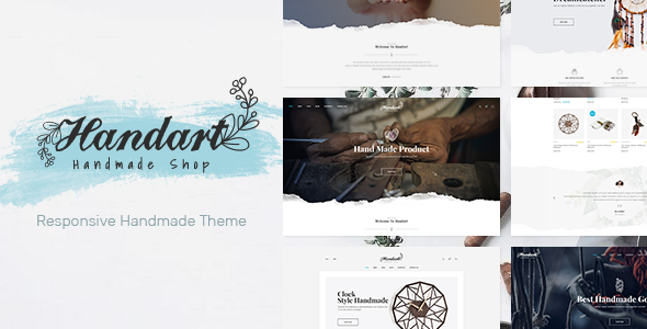 Handart - Handmade Theme for WooCommerce WordPress