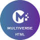 MULTIVERSE - Multipurpose Business/Corporate/Portfolio HTML Template - ThemeForest Item for Sale