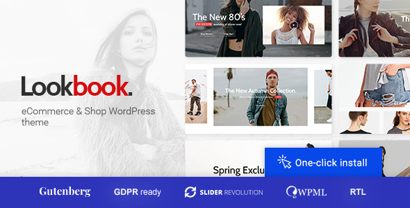 Lookbook - Fashion Store & Clothing Woocommerce Theme