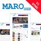 Maro - News & Blog Html Template - ThemeForest Item for Sale