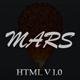 Mars - Website Under Construction - ThemeForest Item for Sale