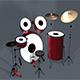 Drums Set 3D Model - 3DOcean Item for Sale