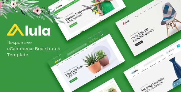 Alula - Multipurpose eCommerce HTML Template