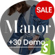 Shopify - Manor Clean, Minimal , Drag & Drop - ThemeForest Item for Sale