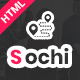 Sochi - Directory & Listing Bootstrap4 HTML Template - ThemeForest Item for Sale