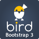 BIRD (Pro) - Multipurpose Responsive Admin Dashboard HTML5 web app kit with Bootstrap 3 - ThemeForest Item for Sale