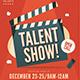 Talent Show Flyer - GraphicRiver Item for Sale
