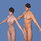 Character Male - Female - 3DOcean Item for Sale