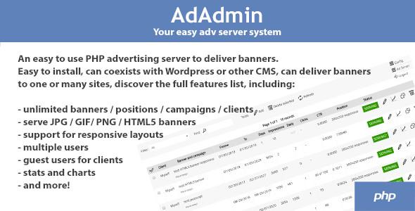 AdAdmin - Easy adv server (adversting platform) Download