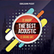 Acoustic Concert Flyer / Poster - GraphicRiver Item for Sale