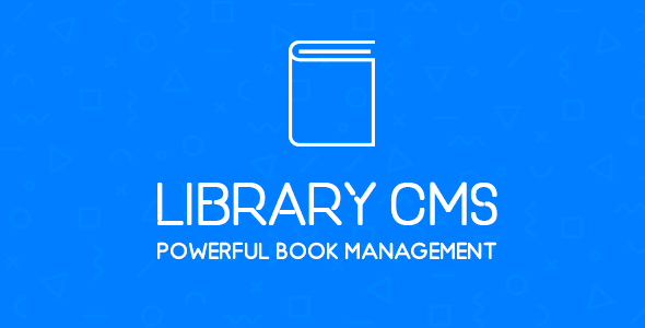 Library CMS - Powerful Book Management System Download