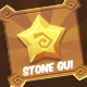 Stone Cartoon GUI Pack in Egypt Style - GraphicRiver Item for Sale
