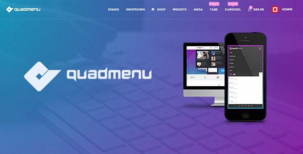 QuadMenu - Themes Developer Mega Menu Download