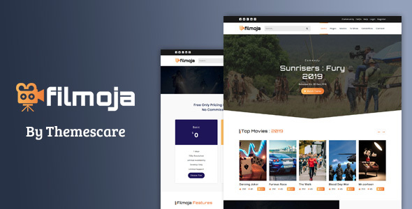 Filmoja - Movie/Film/TV Show HTML Template