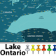Map of Lake Ontario - GraphicRiver Item for Sale