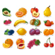 Fruits Icons - GraphicRiver Item for Sale