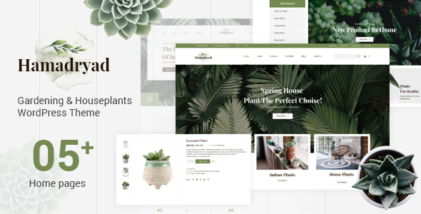 Hamadriad - Ecommerce PSD Template