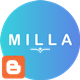 Milla - Minimal Portfolio Blogger Template - ThemeForest Item for Sale