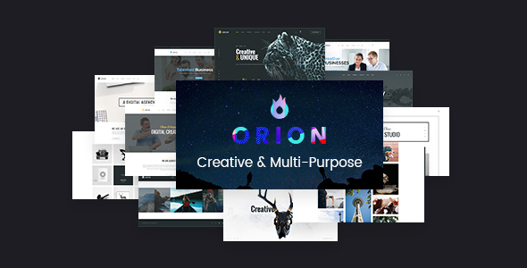 Orion - Creative Multi-Purpose WordPress Theme