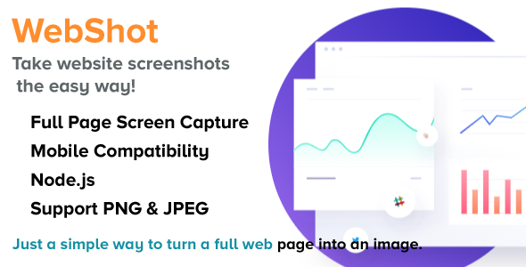 WebShot - NodeJS Full Web Page into an Image Download