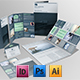 Set of Brochures / Stationery Templates - GraphicRiver Item for Sale