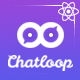 Chatloop - React App Landing Page - ThemeForest Item for Sale