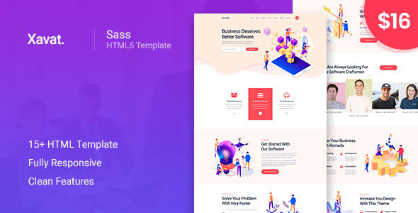 Xavat - Startup Agency and SaaS Business Template