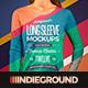 Women Long Sleeve T-Shirt Mockups - GraphicRiver Item for Sale